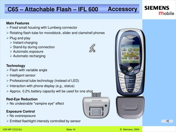 C65 – Attachable Flash – IFL 600