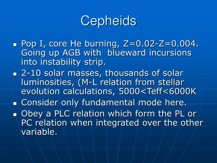 Cepheids