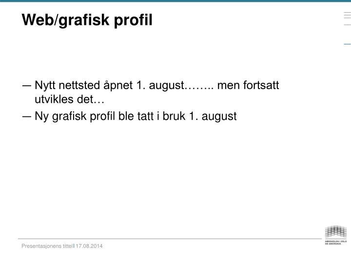 Web/grafisk profil