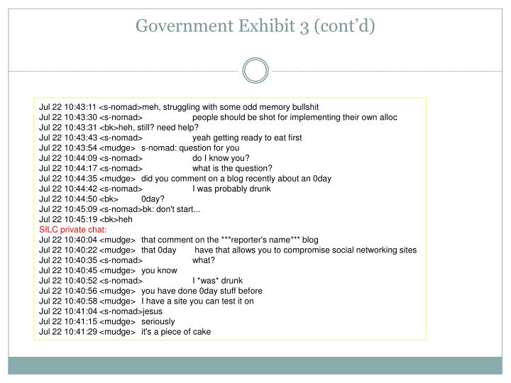 Government Exhibit
