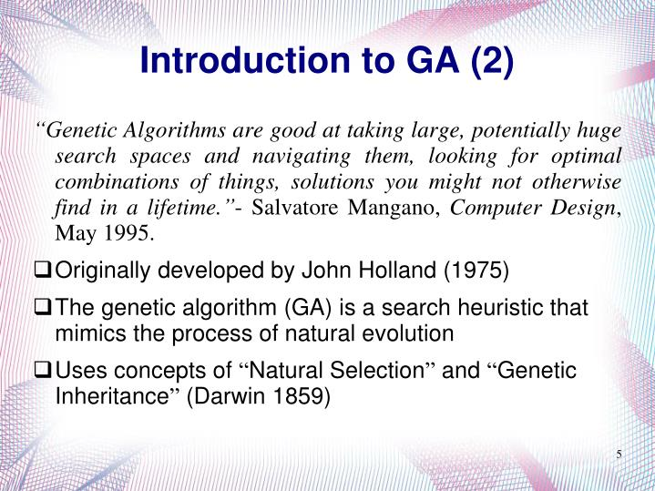 Introduction to GA (2)