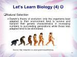 let s learn biology 4