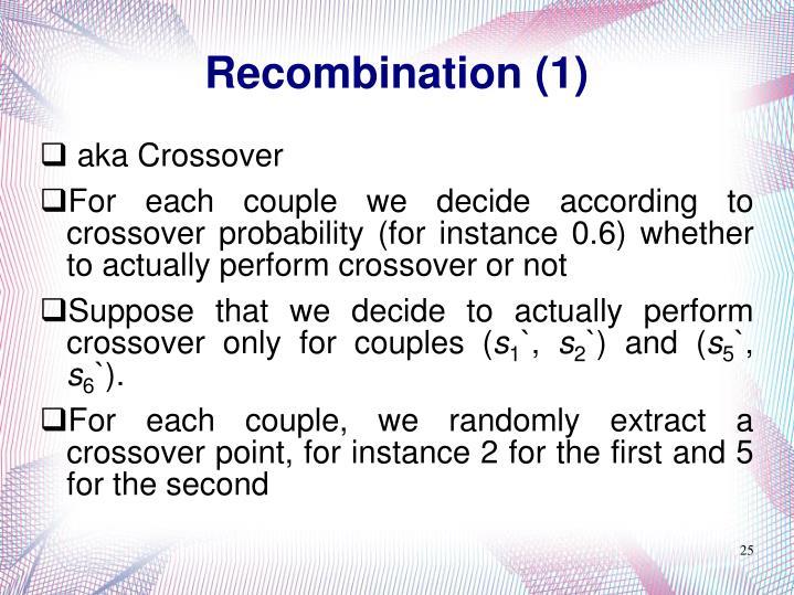 Recombination (1)