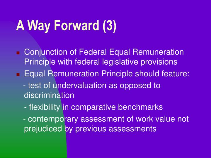 A Way Forward (3)