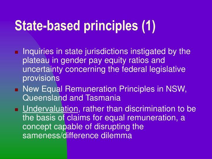 State-based principles (1)