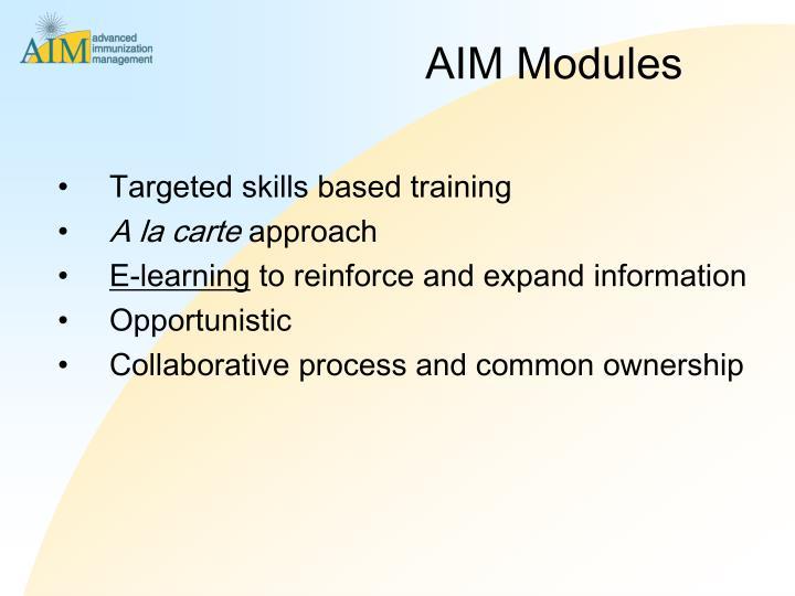 AIM Modules