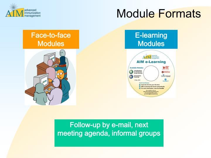 Module Formats