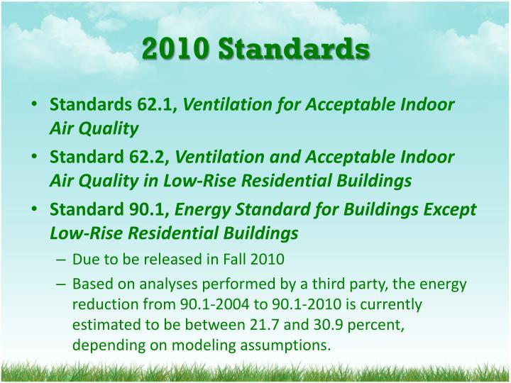 2010 Standards