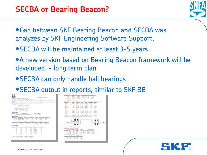 SECBA or Bearing Beacon?