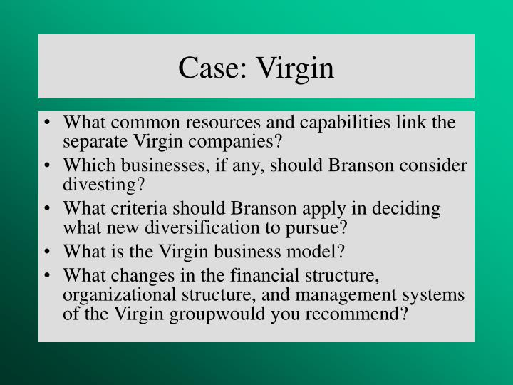 Case: Virgin