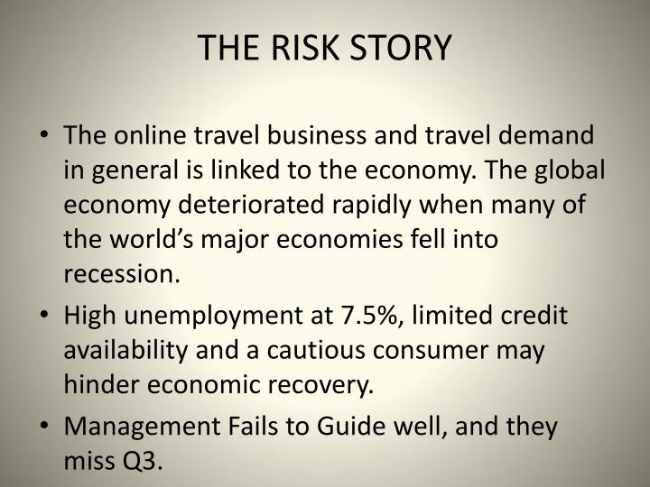 THE RISK STORY