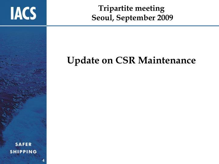 Tripartite meeting