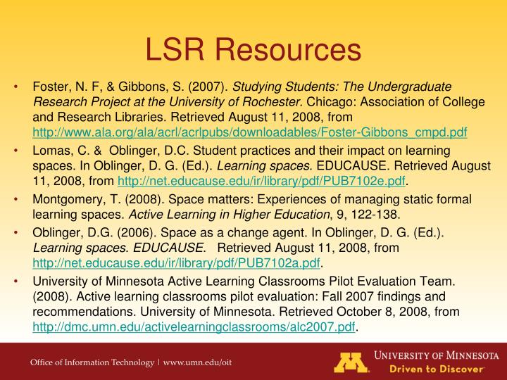 LSR Resources
