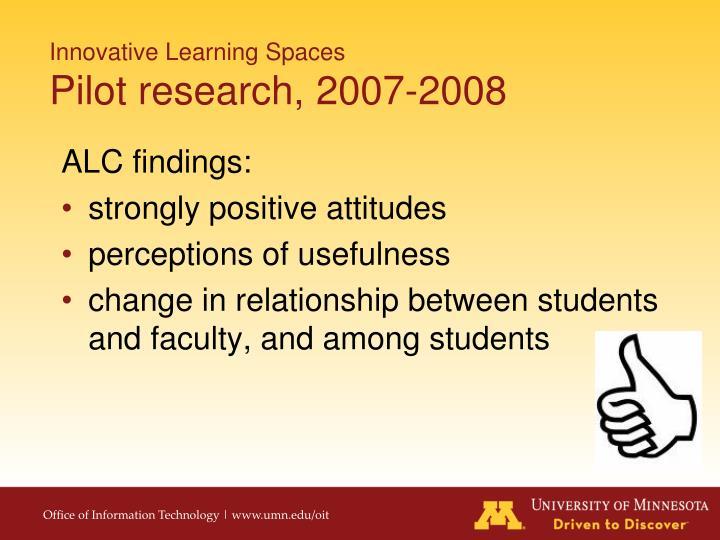 ALC findings: