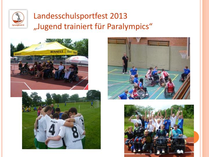 Landesschulsportfest 2013
