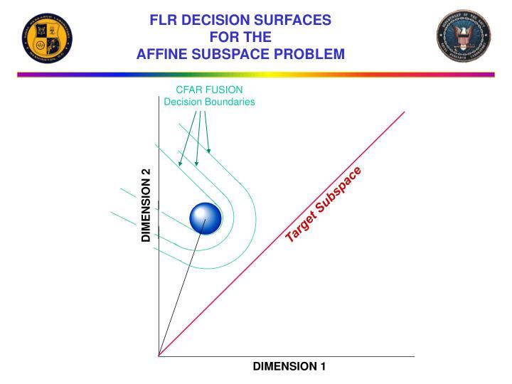 FLR DECISION SURFACES