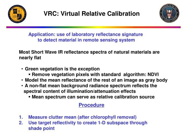 VRC: Virtual Relative Calibration