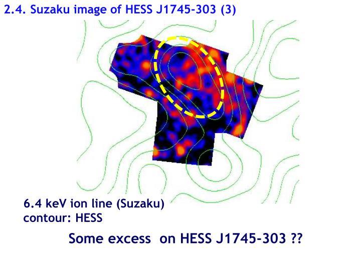 2.4. Suzaku image of HESS J1745-303 (3)