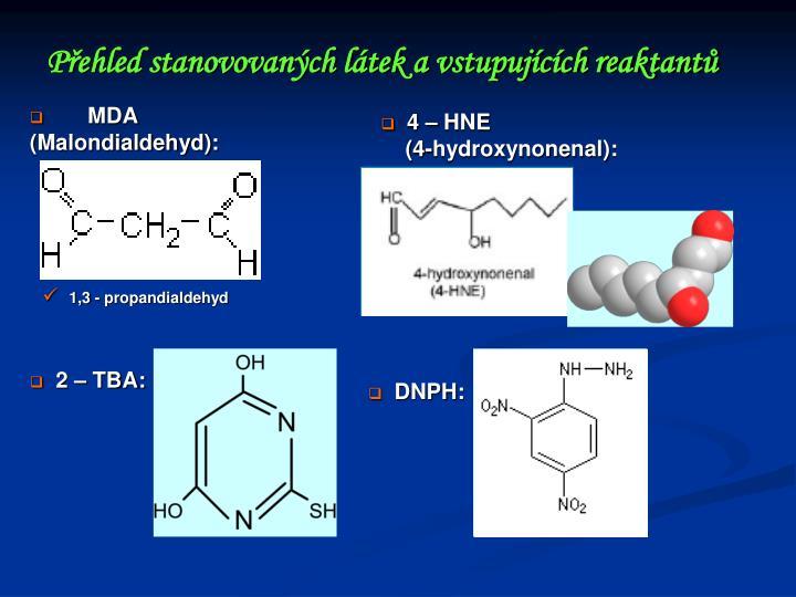 MDA (Malondialdehyd):