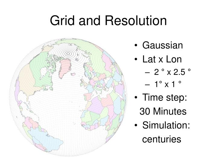 Grid and Resolution