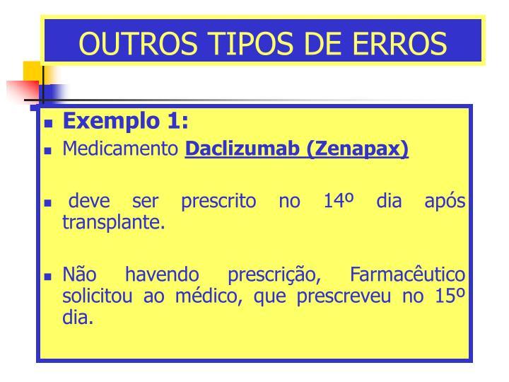OUTROS TIPOS DE ERROS