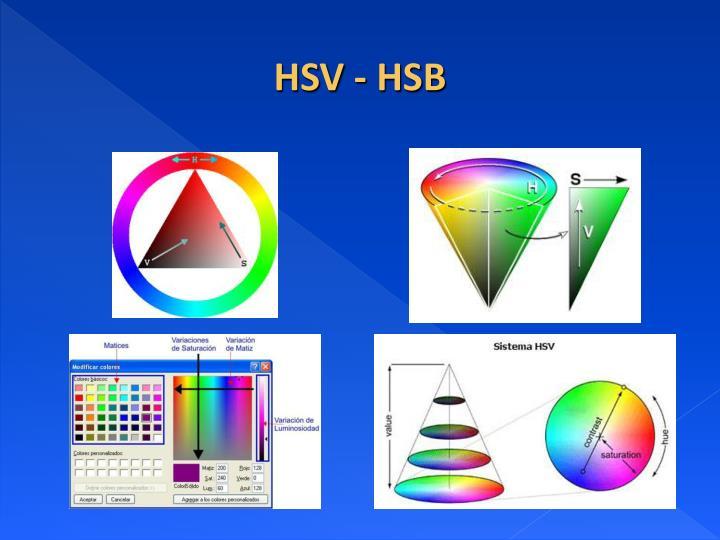 HSV - HSB