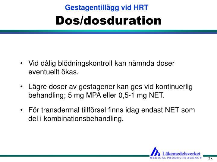 Dos/dosduration