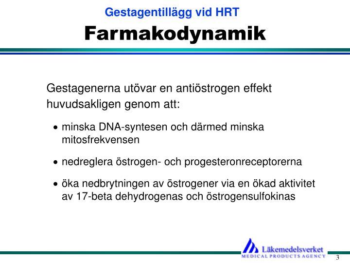Farmakodynamik