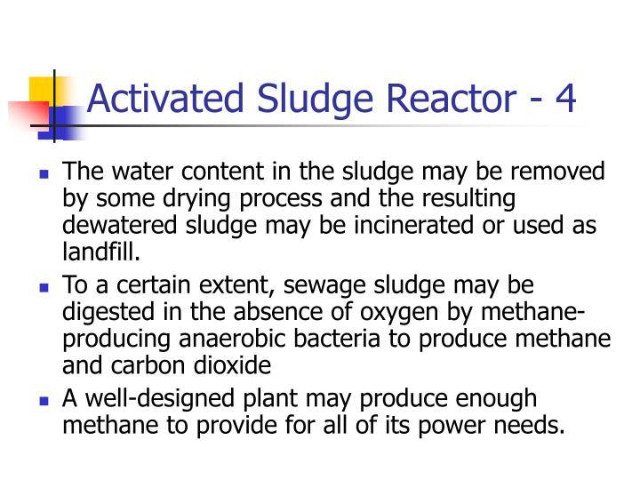 Activated Sludge Reactor - 4