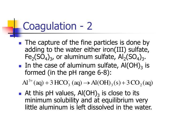 Coagulation - 2