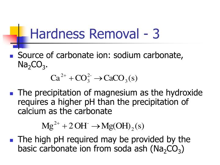Hardness Removal - 3