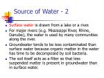source of water 2