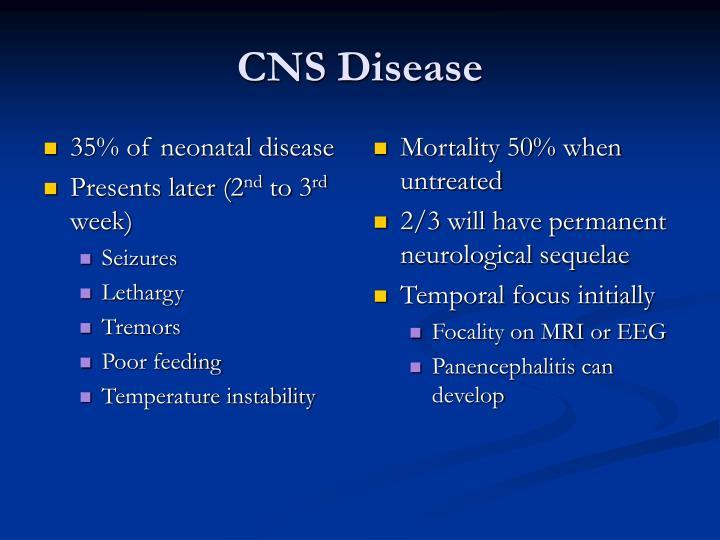 35% of neonatal disease