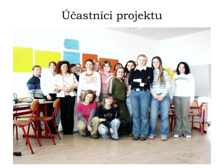 Účastníci projektu