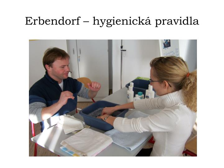 Erbendorf – hygienická pravidla
