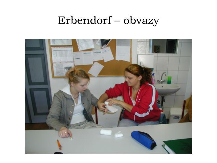 Erbendorf – obvazy