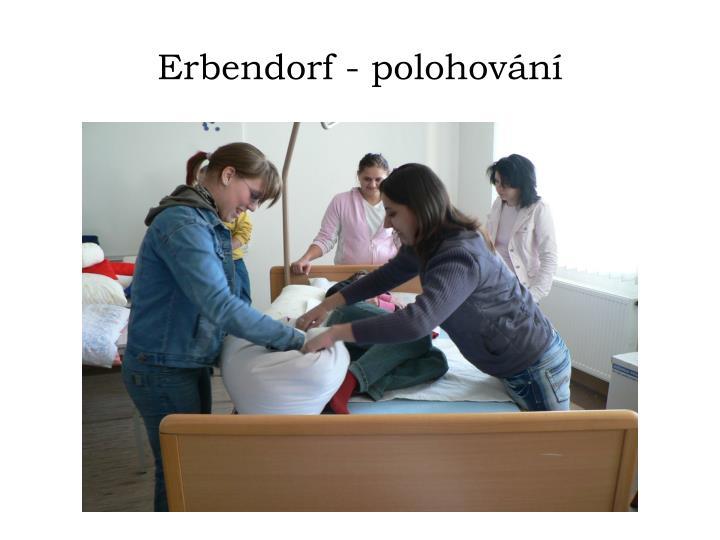 Erbendorf - polohování