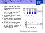 abolition of priority need test capacity issues