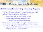 cdbg disaster program challenges10