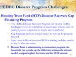 cdbg disaster program challenges9