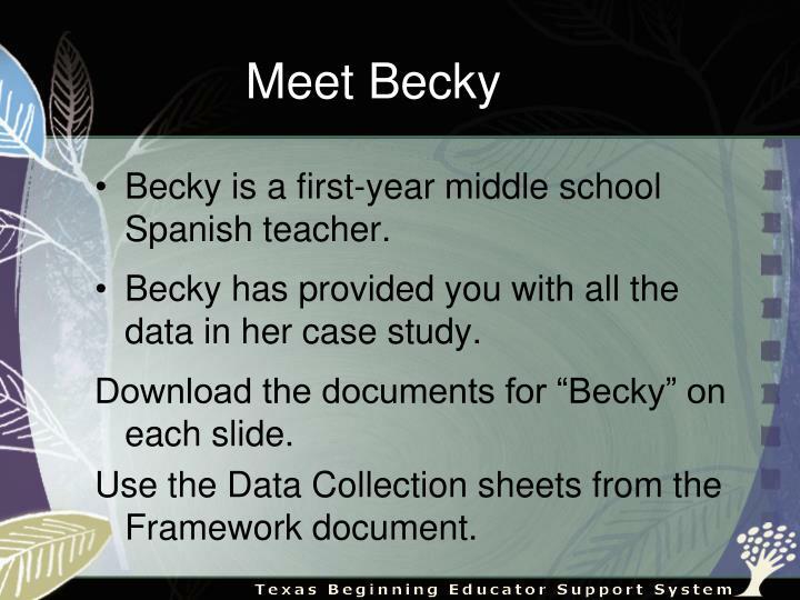 Meet Becky