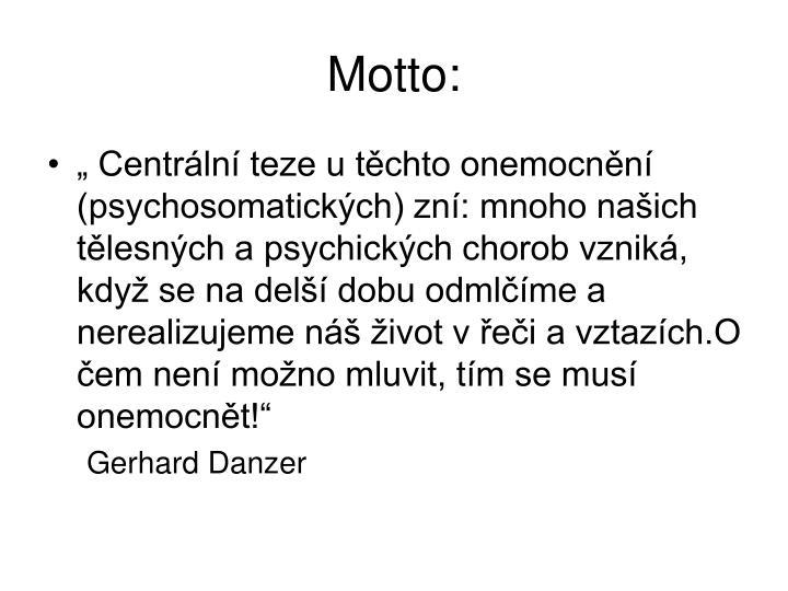 Motto: