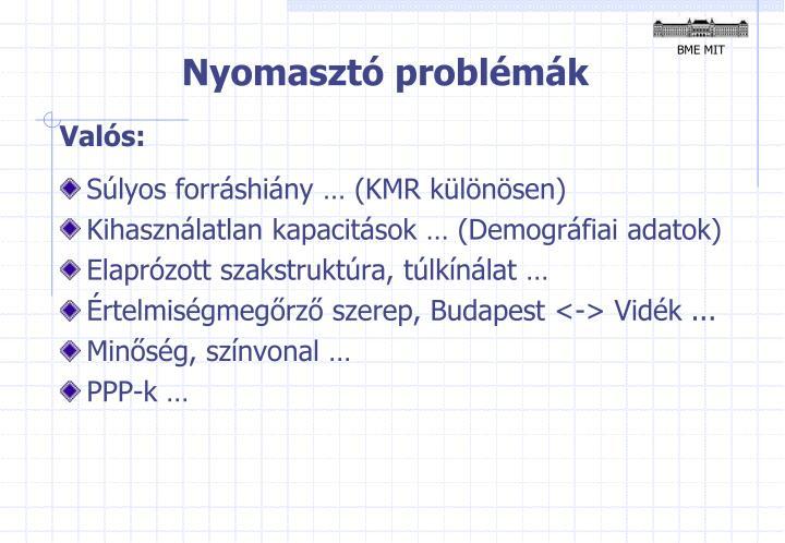 Nyomasztó problémák
