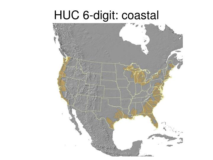 HUC 6-digit: coastal