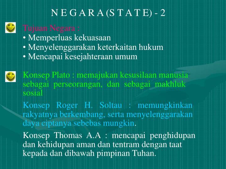 N E G A R A (S T A T E) - 2