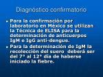 diagn stico confirmatorio