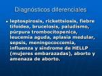 diagn sticos diferenciales