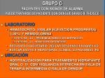 grupo c pacientes con signos de alarma puede tratarse de paciente con dengue grado iii fhd scd1