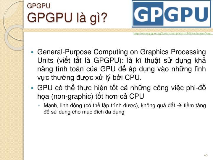 GPGPU