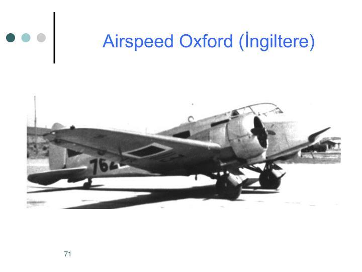 Airspeed Oxford (İngiltere)